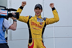 BF3 Race report Giovinazzi takes a slippery Spa victory