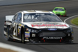 NASCAR Cup Qualifying report Despite tight handling condition, Bayne qualifies 28th at Indy