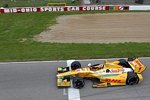 IndyCar Testing report Andretti Autosport's Hunter-Reay leads open test at Mid-Ohio