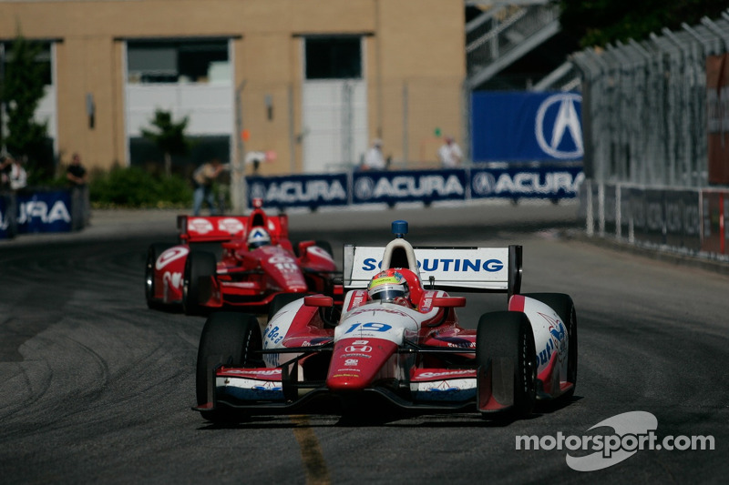 Justin Wilson ready for action at Mid-Ohio