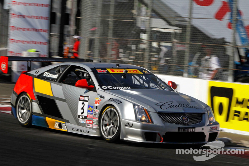 Top ten qualifying results for Team Cadillac at Mid-Ohio