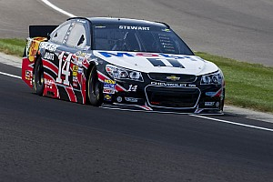 NASCAR Cup Race report Stewart uses teamwork to overcome penalty, finish ninth at Pocono