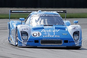 Grand-Am Qualifying report Rojas captures pole for Ganassi at inaugural race in Kansas