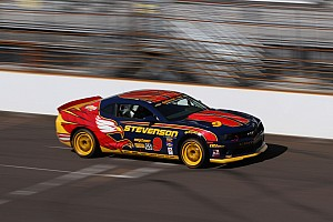 Grand-Am Qualifying report Matt Bell takes sixth on CTSCC Kansas grid for Stevenson