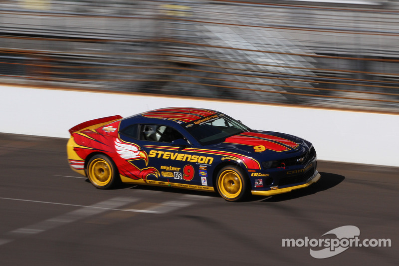 Matt Bell takes sixth on CTSCC Kansas grid for Stevenson