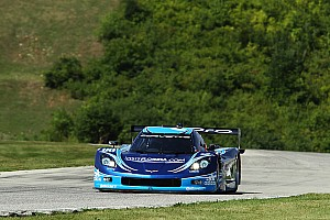 Grand-Am Race report Tough day at Kansas for Spirit of Daytona Racing