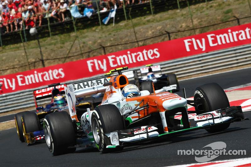 Force India on Grand Prix of Belgium