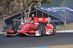 IndyCar Practice report Dixon leads opening day of practice at Sonoma