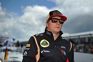 Formula 1 Breaking news No 2014 talks until Lotus resolves issues - Raikkonen