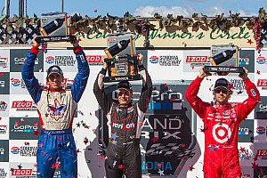 IndyCar Race report Justin Wilson takes best finish of 2013 with run to second in Sonoma