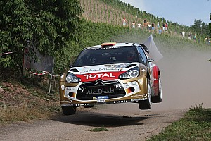 WRC Race report Dani Sordo secures his first WRC win with Citroën