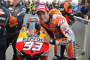 MotoGP Qualifying report Marquez surprises himself with record time at Silverstone