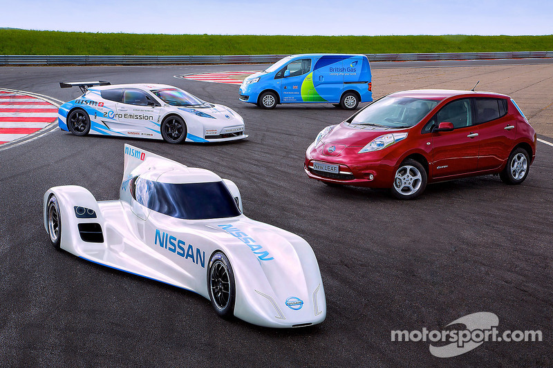 Nissan to showcase the ZERO RC in Japan at Fuji Speedway