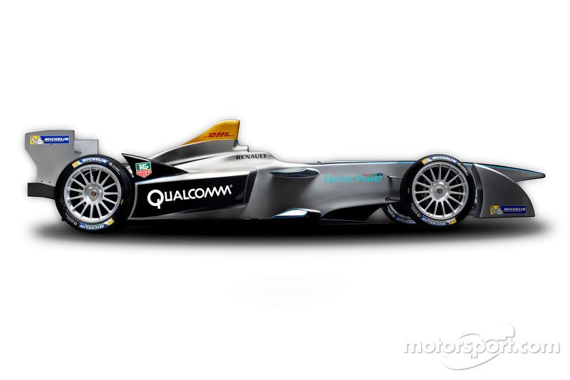 McLaren the power behind Formula E