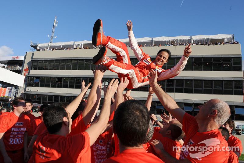 Felipe Massa - a place in Ferrari history