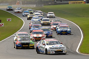 BTCC Qualifying report Front row lockout for MG at Rockingham