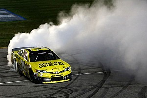 NASCAR Cup Race report Kenseth storms to victory in late-night action at Chicagoland