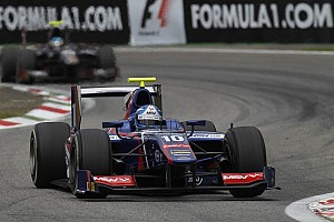 GP2 Qualifying report Palmer grabs maiden GP2 pole in Singapore
