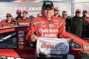 NASCAR Cup Qualifying report Newman rockets to pole at New Hampshire