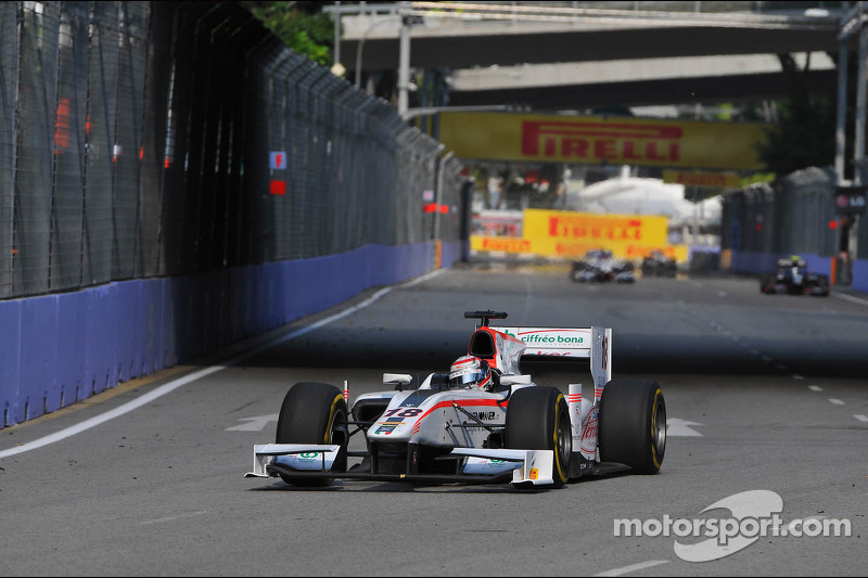 First lap decisive for Coletti in Singapore's Sprint Race