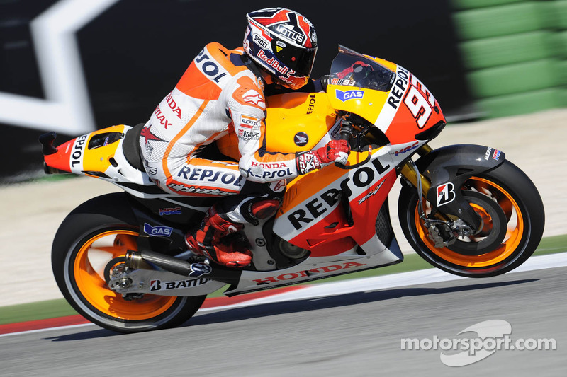 Marquez grabs lead in Aragon afternoon practice session