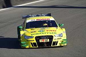 DTM Qualifying report Audi driver Mike Rockenfeller strong again in qualifying at Zandvoort
