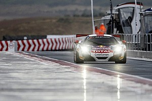 Blancpain Sprint Qualifying report Loeb and Parente take wet qualifying race win
