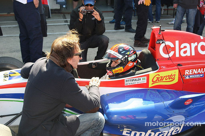 Pietro Fittipaldi's BF4 event at Silverstone was extra special