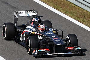 Formula 1 Qualifying report Both Sauber drivers got into third segment of Korean GP qualifying