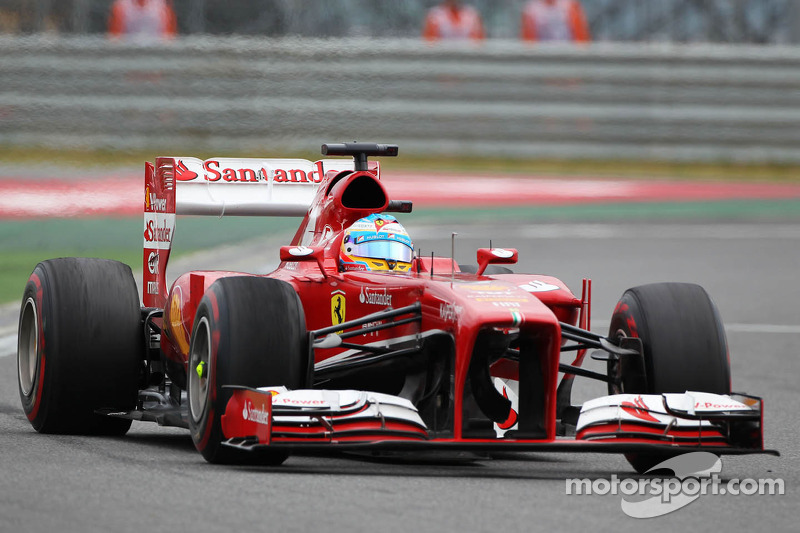 Alonso and Massa in the top ten at Korea