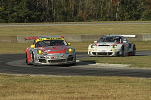 ALMS Race report Flying Lizard retain the lead in the GTC at VIR