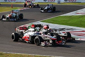 Formula 1 Race report Jenson Button brings points for McLaren F1 Team in Japanese GP
