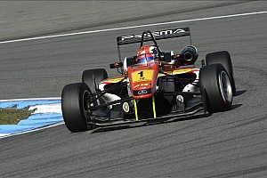 F3 Europe Race report Marciello seals title at Hockenheim by 0.5 points