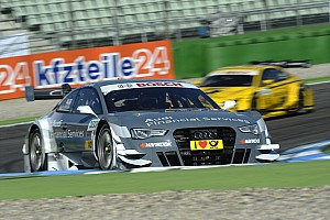DTM Qualifying report Audi in the role of the hunter at DTM finale at Hockenheim