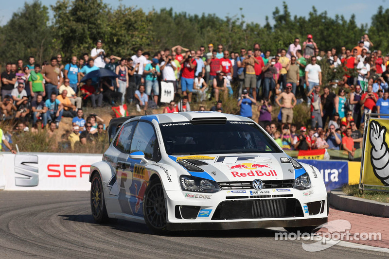 Day one in Spain: first and second place for Volkswagen