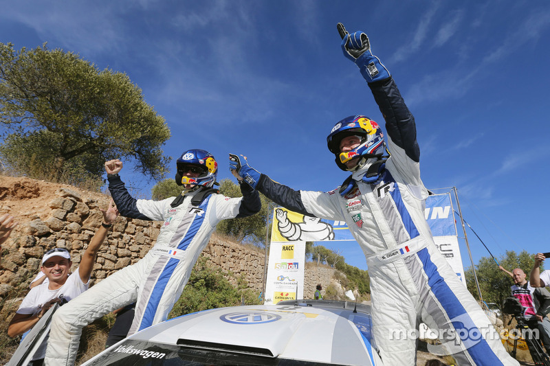 Supreme Ogier reigns in Rally de Espana