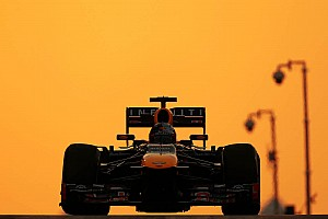 Formula 1 Practice report No big issues for Red Bull on Friday practice at Yas Marina Circuit