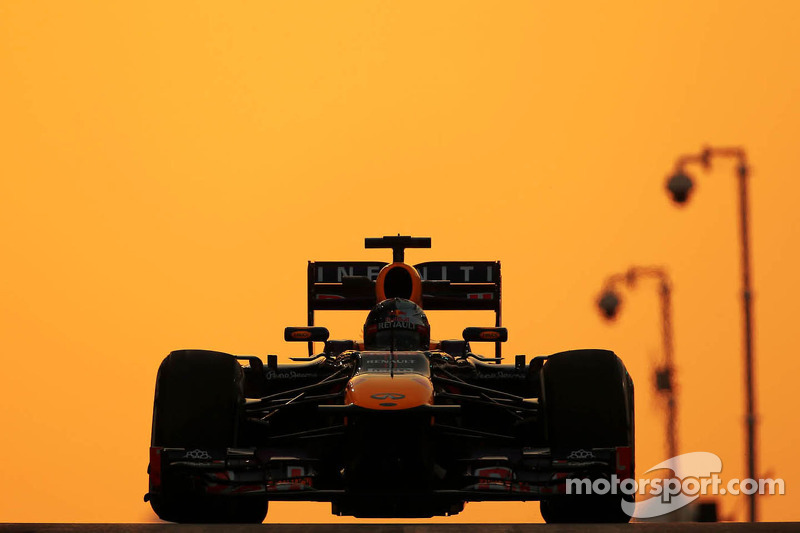 No big issues for Red Bull on Friday practice at Yas Marina Circuit