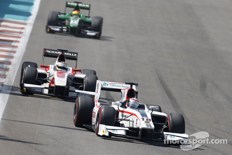 End of the season close to the points for Coletti in Abu Dhabi