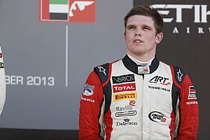 GP3 Race report Daly ends season on podium at Abu Dhabi