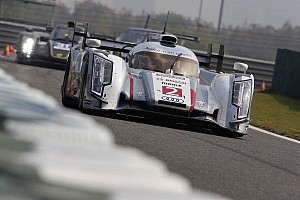 WEC Practice report 6 Hours of Shanghai FP1: Audi lead the way