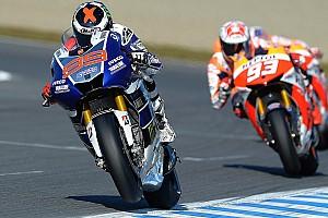 MotoGP Practice report Yamaha: Spanish duel begins in Valencia