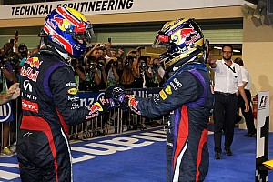 Formula 1 Breaking news Departing Webber not ready for 'red wine' with Vettel