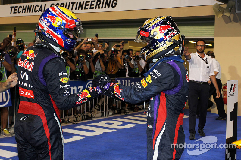 Departing Webber not ready for 'red wine' with Vettel