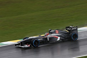 Formula 1 Qualifying report After a difficult qualifying, Sauber hopes for a dry race tomorrow at Interlagos