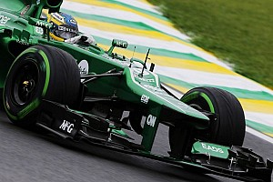 Formula 1 Breaking news Caterham first in line for 2014 car crash test