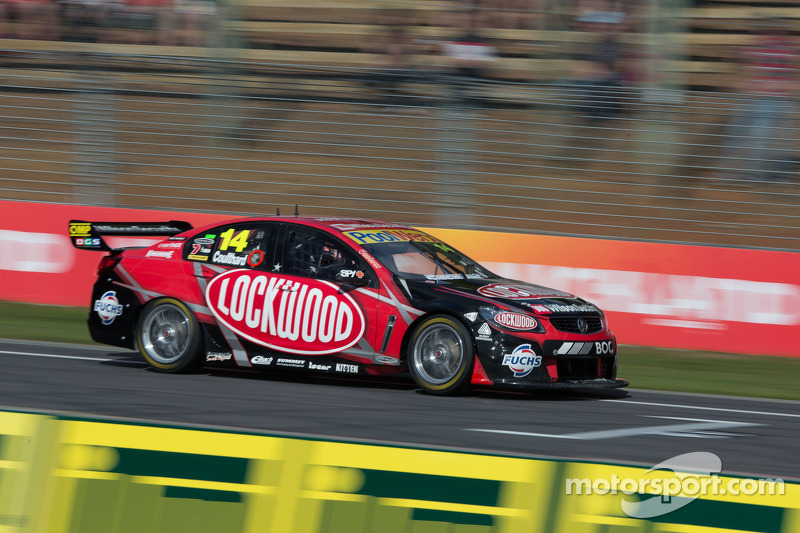 Coulthard limped home in 19th at Sydney Olympic Park