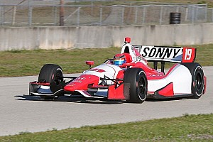 IndyCar Breaking news Hawksworth 'as good as current IndyCar top five' in scintillating Sebring test