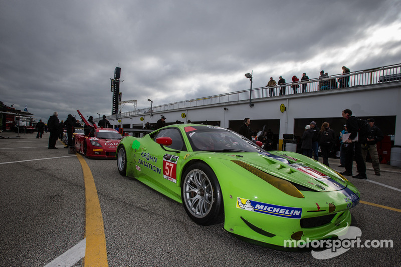 Krohn Racing completes successful test  at the Roar before the Rolex 24