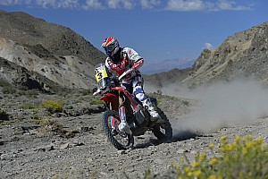 Dakar Stage report Barreda fights back with day win number three